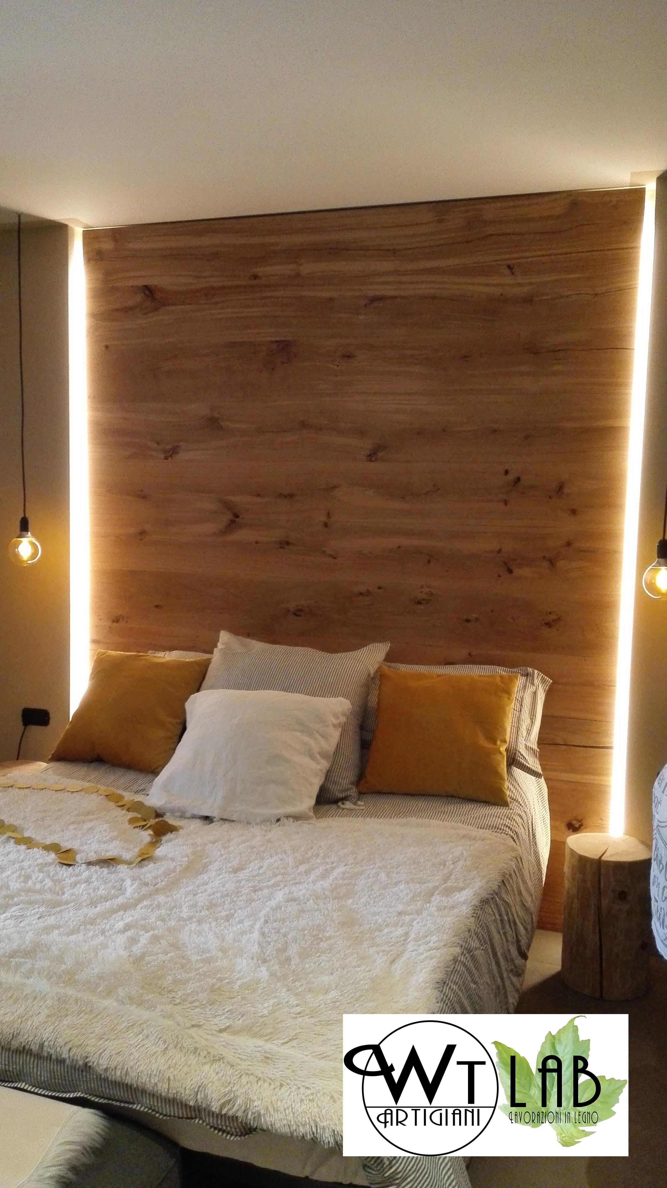 Awesome rivestimento parete camera da letto ideas - Parete in pietra per camera da letto ...